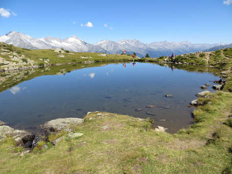 There are various possibilities for hiking in the Vedrette di Ries nature park.
